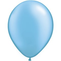 Balon Latex Pearl Azure 5 inch (13 cm), Qualatex 43577, set 100 buc