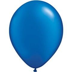 Balon Latex Pearl Sapphire Blue 5 inch (13 cm), Qualatex 43595, set 100 buc