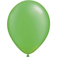 Balon Latex Pearl Lime Green 11 inch (28 cm), Qualatex 49957