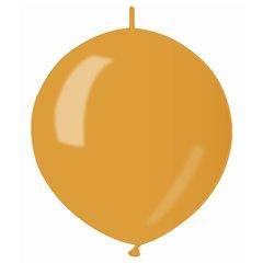 Baloane latex Cony sidefate 33 cm, Auriu 39, Gemar GLM13.39