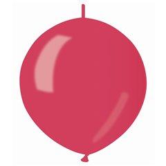Baloane latex Cony sidefate 33 cm, Rosu 53, Gemar GLM13.53, set 100 buc