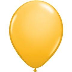 Balon Latex Goldenrod, 5 inch (13 cm), Qualatex 43559, set 100 buc