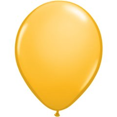 Balon Latex Goldenrod, 16 inch (41 cm), Qualatex 43867, set 50 buc