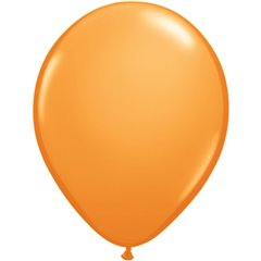 Balon Latex Orange, 5 inch (13 cm), Qualatex 43570, set 100 buc