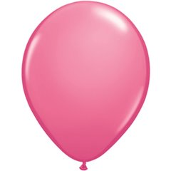 Balon Latex Rose, 5 inch (13 cm), Qualatex 43600, set 100 buc