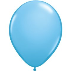 Balon Latex Pale Blue, 11 inch (28 cm), Qualatex 43762
