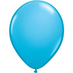 Balon Latex Robin Egg Blue, 16 inch (41 cm), Qualatex 82687, set 50 buc