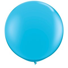 Baloane latex Jumbo 3 ft Robin's Egg Blue, Qualatex 82784, 1 buc