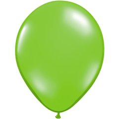 Balon Latex Jewel Lime, 5 inch (13 cm), Qualatex 99334, set 100 buc