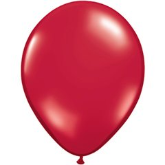 Balon Latex Ruby Red, 16 inch (41 cm), Qualatex 43899