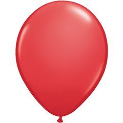Balon Latex Red, 5 inch (13 cm), Qualatex 43599, set 100 buc