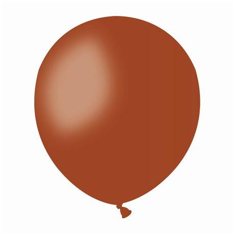 Baloane Latex 13 cm, Maro 48, Gemar A50.48, set 100 buc