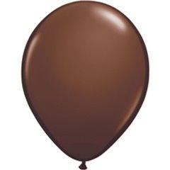 Balon Latex Chocolate Brown, 5 inch (13 cm), Qualatex 68776, set 100 buc