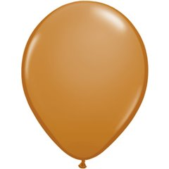 Balon Latex Mocha Brown, 11 inch (28 cm), Qualatex 99379, set 100 buc