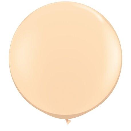 Baloane latex Jumbo 3' Blush, Qualatex 82987, set 2 buc