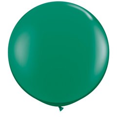 Baloane latex Jumbo 3' Emerald Green, Qualatex 43002, set 2 buc