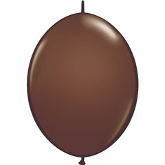 Balon Cony Chocolate Brown, 12 inch (30 cm), Qualatex 65332