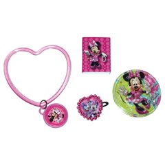 Set Jucarii Party Minnie Mouse Pink, Amscan 996004, 24 piese