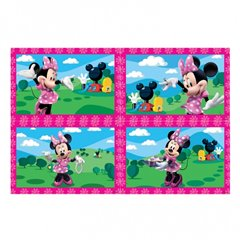 Puzzle Minnie Mouse, Amscan 994174, Set de 4 buc