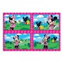 Puzzle Minnie Mouse, Amscan 994174, Set de 4 buc