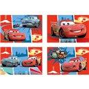 Puzzle Cars, Amscan 994147, Set de 4 buc