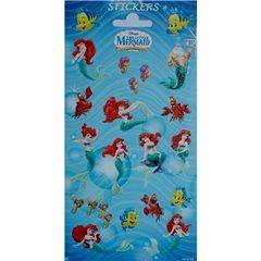 Stickere decorative pentru copii - Mica Sirena, Radar 766930, Set 18 piese