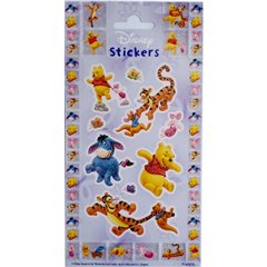 Stickere decorative pentru copii - Winnie the Pooh, Radar 0875, Set 9 piese
