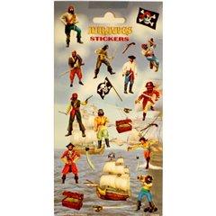 Stickere decorative pentru copii - Pirati, Radar 100344, Set 20 piese