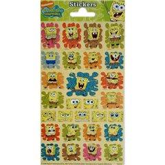 Stickere decorative pentru copii - SpongeBob, Radar 100332, Set 28 piese