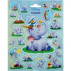 Stickere decorative pentru copii - Heffalump, Radar SDFRA0274, Set 23 piese