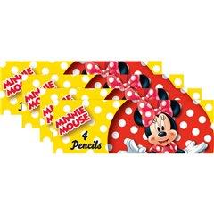 Creioane colorate Disney Minnie Mouse, Amscan 995244, Blister 8 seturi