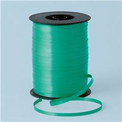 Rafie Emerald Green pentru legat baloane latex sau folie - 500 m, Qualatex 25908, 1 rola