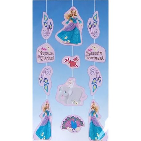 Ornament cu Barbie pentru petrecere, 150 cm, Amscan RM400186, 1 buc