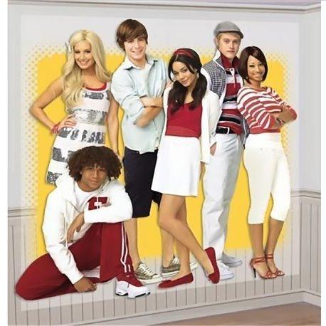 Poster decorativ High School Musical pentru petrecere, Amscan 679001, 1 buc