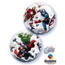 "Balon Bubble 22""/56cm Qualatex, Marvel's Avengers Assemble, 93052"