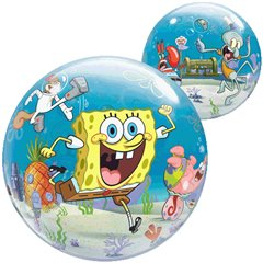 "Balon Bubble 22""/56cm Qualatex, SpongeBob & Friends, 65581"