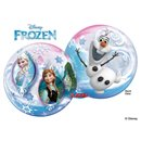 "Balon Bubble 22""/56cm Qualatex, Frozen - Anna, Elsa & Olaf, 32688"