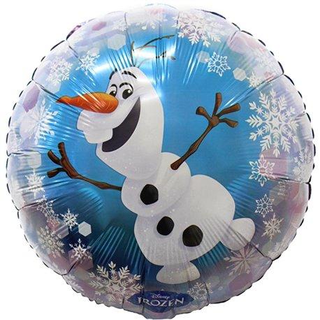 Balon Folie 45 cm Olaf, Amscan 30648