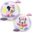 """Balon Bubble 22""""/56cm Minnie Mouse Baby, Qualatex 16430"""