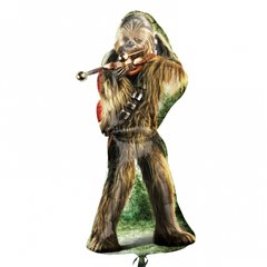 Balon Folie Figurina Star Wars Chewbacca - 43x96cm, Amscan 3040001