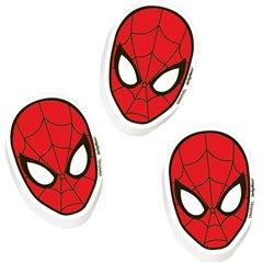Gume de sters Spiderman, Amscan RM393373-55, Set 12 buc