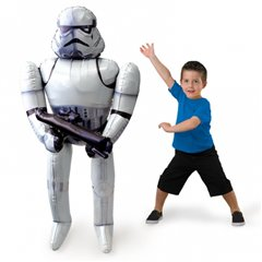 Balon Folie Airwalker Star Wars Storm Trooper - 132 cm, Amscan 3040101