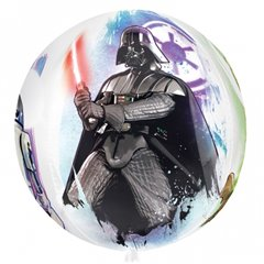 Balon Folie Orbz Star Wars, 38x40 cm, Amscan 30396