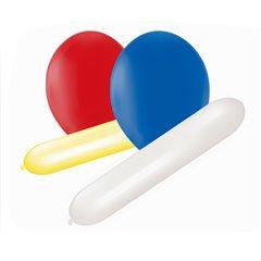 Baloane latex cu diferite forme, Asortate, Amscan 110827A, Set 25 buc