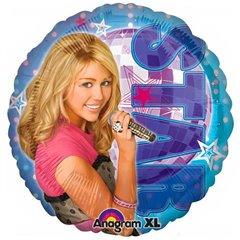 Balon Folie 45 cm Hannah Montana Rock Star, Amscan 18220