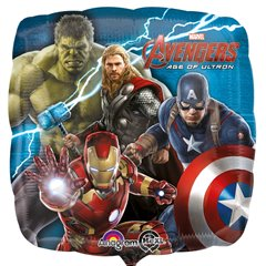 Balon folie 45 cm Avengers 2 Age of Ultron, Amscan 3038301