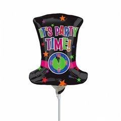 """Balon Mini Figurina Joben """"It's party time"""" + bat si rozeta, Amscan 2517502"""