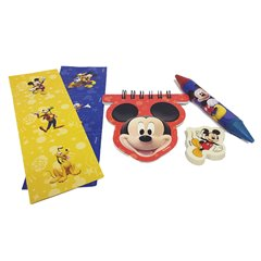 Set rechizite Mickey Mouse, Amscan RM996492, Set 20 buc