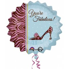 "Balon Folie 45cm ""You're fabulous"", Amscan 2684401"