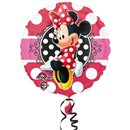 Balon Folie 45 cm Minnie Mouse Portrait, Amscan 3064701